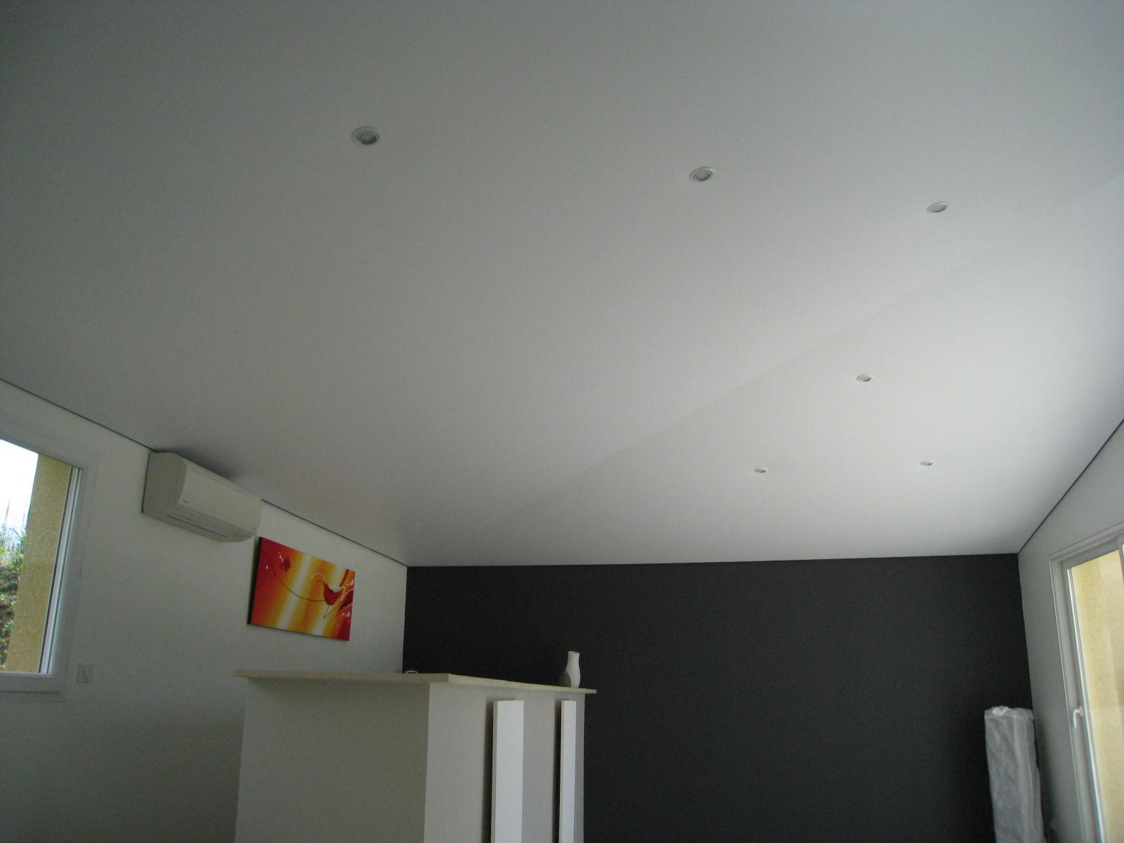 Plafond Tendu Extenzo Acoustique Micro Perforé